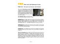 VMS Vault Maintenance System - Field Test - Datasheet