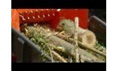 Chipping Chipper Biomass Energy Ct 40-75 Tts Chipper Video