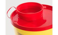 APmedical - Model PBS Line - Round Shape Disposable and Puncture Resistant Containers