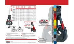 Minelli - Model MPV - Polygrab for Moving Scrap, Waste and Loose Materials - Brochure