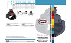 Minelli - Model MPM - Equipment for the Selection, Demolition and Handling of Various Materials - Brochure