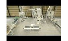 Recycled cellulose insulation manufacturing: Makron Fibretec 1500 production line