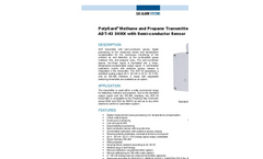 PolyGard Methane and Propane Transmitter ADT-43 3HXX with Semi-conductor Sensor
