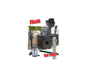 Flush for Free Above Ground Rainwater Harvesting System