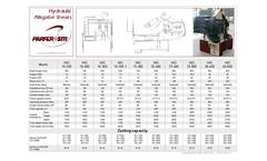HAS Series - Hydraulic Alligator Shears Datasheet