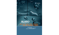 Blabo - Automatic Oil Tank Cleaning System Brochure