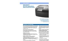 DR 5000 UV-Vis Laboratory Spectrophotometer Datasheet