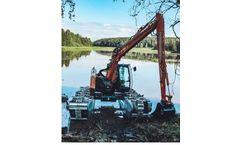 Big Float - Model E 10 - Amphibious Excavator