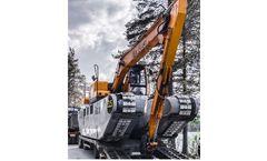 Big Float - Model E 15 - Amphibious Excavator
