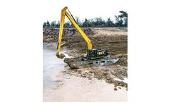 Big Float - Model E 22 - Amphibious Excavator