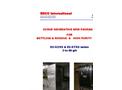 ESCO - Model EC-OZ/SS & EC-ST/SS Series - Ozone Generating Skid Packages - Brochure
