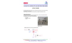 ESCO International Comapny Profile - Brochure