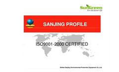 company profile and product catalogue