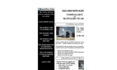 Stack Testing - CGA and RATA – Brochure