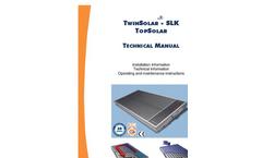 Manual TwinSolar / TopSolar- Brochure