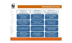 One Planet Leaders - Workshops Overview Brochure (PDF 217 KB)
