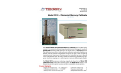 Tekran - Model 3310 - Elemental Mercury (Hg) Calibration Unit - Brochure