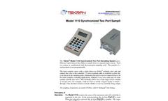 Tekran - Model 1110 - Synchronized Two Port Sampling System - Brochure