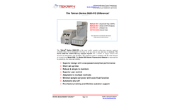Tekran - Model Series Series 2600-IVS - Automated Sample Analysis System - Brochure
