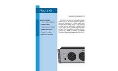 RMU16-K6 Ozone Generators - Brochure