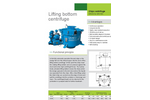 Lanner - Model DS - Centrifuge Drum with Patented Lifting Bottom Technology Brochure