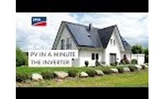 PV in a minute - The Inverter Video