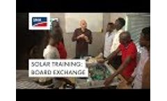 Solar Training: Board Exchange (Nigeria) Video