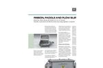 Model HD-12-SS - Stainless Steel Ribbon Blender Brochure