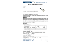 Model MPM430 - Lower Range Pressure Transmitter - Datasheet