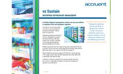 Accruent - Model VX Sustain - Refrigerant Management System Brochure