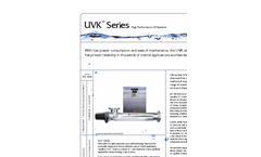 UVK Series - High Performance UV System Brochure