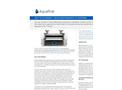 Aquafine TSG 021 High Performance UV Systems Brochure