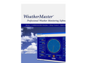 WeatherMaster - 8290 - Software for Orion Weather Stations Datasheet