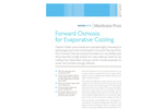 Evaporative Cooling Systems Datasheet