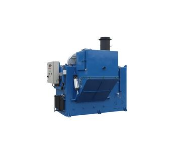 Atlas - Model 1500 SL WS M - Large Incinerator for Burning Solid and Liquid Waste