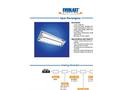 EHB-OD Open Rectangular High Bay 400W Cut Sheet