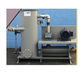 H2K - Model RLV Series - Rotary Lobe Vacuum System