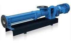 Jog - Biogas Slurry Feeding Screw Pumps