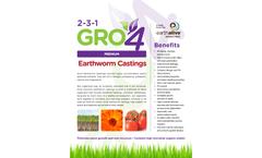 Model Gro4 - Earthworm Castings Brochure