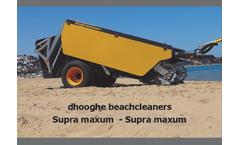 dhooghe - Model Supra Maxum - Beach Cleaners - Brochure
