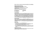 NFPA 70E (Arc Blast) & Electrical Safety for the Workplace Training - Datasheet