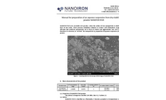 NANOFER STAR Processing & Activation Manual