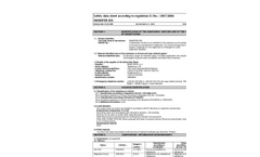 Nanofer - Model 25S - Aqueous Dispersion of Fe(0) Nanoparticles - Safety Data Sheet