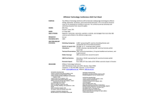 OTC Offshore Technology Conference (OTC) 2020 - Factsheet