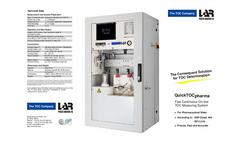 LAR - Model QuickTOCpharma - TOC Analyzer for Pharmaceutical Industry - Brochure