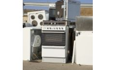 Recycling equipments for white goods