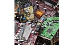Recycling equipment for shredding electronic scrap (E-scrap)