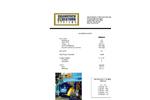 Saturn - Model G-3 - Rubber Granulator Machine Datasheet