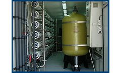 Model AWB 3680-600 - High Brackish Water Reverse Osmosis Desalination System