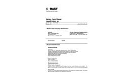 BASF Enviroseal 40 MSDS-Brochure